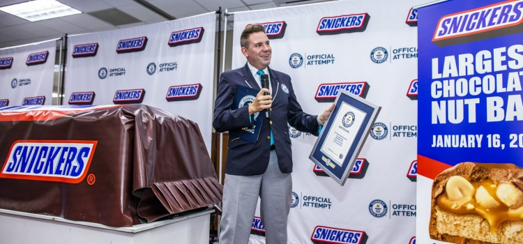 Mars unveils the largest Snickers bar weeks before Super Bowl LIV