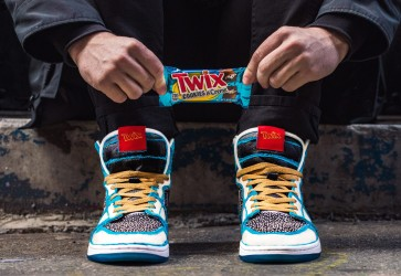 Twix unveils Cookies & Creme Bars along with limited-edition sneakers