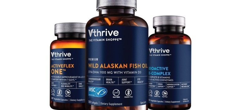The Vitamin Shoppe launches new Vthrive vitamins