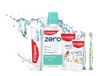 New Colgate Zero offers more options for family oral care