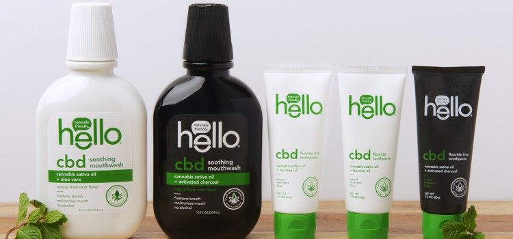 Hello takes oral care to the next level with new CBD lineup
