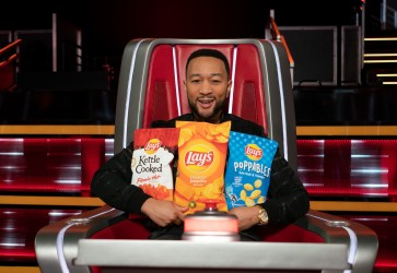 """Lay's teams with NBC'S """"The Voice"""" and coach John Legend"""
