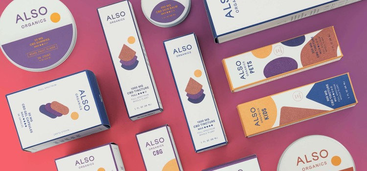 New CBD brand Also Organics takes bold approach to reach new audiences