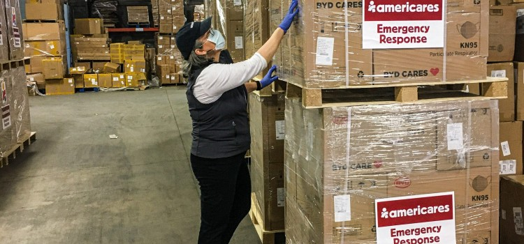 Americares delivers 1.4 million masks to protect against COVID-19