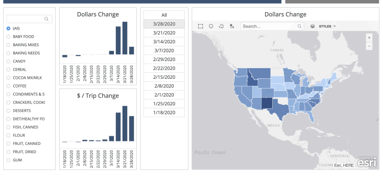 Catalina launches interactive map showing purchasing decisions during COVID-19
