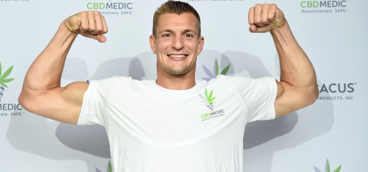 Rob Gronkowski is back in the game with CBDMEDIC