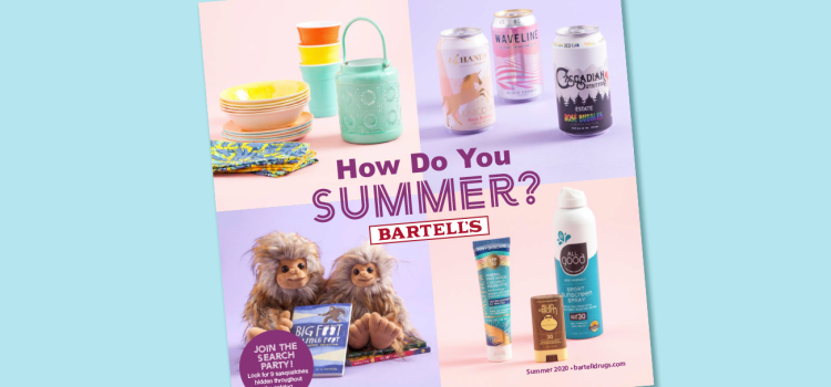 Bartell's Summer Catalog encourages creative summertime experiences