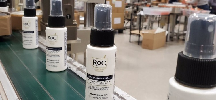 RoC Skincare teams up to deliver gourmet meals, masks and hand sanitizers to local pharmacists and staff