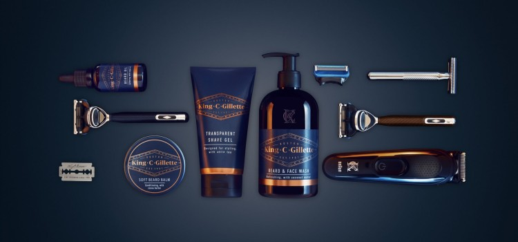 Gillette launches King C. Gillette: A new crop of mens grooming and beard care products