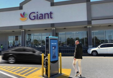 Giant Food partners with Volta to provide free electric vehicle charging stations