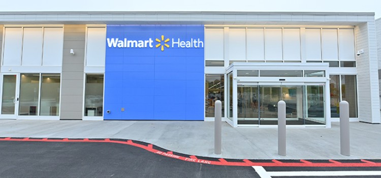 Walmart opens third health center