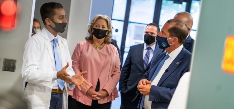Secretary Azar visits a Health Mart pharmacy in Texas