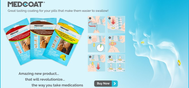 Medcoat takes the stress out of swallowing pills