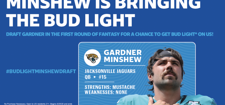 Bud Light encourages fantasy fans to draft Jaguars QB