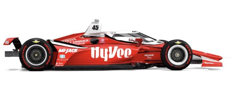 Hy-Vee to be the primary sponsor of entry at Sunday's 104th Indianapolis 500