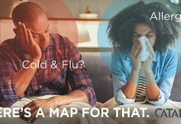 Catalina unveils interactive cough, cold and flu and allergy heat maps