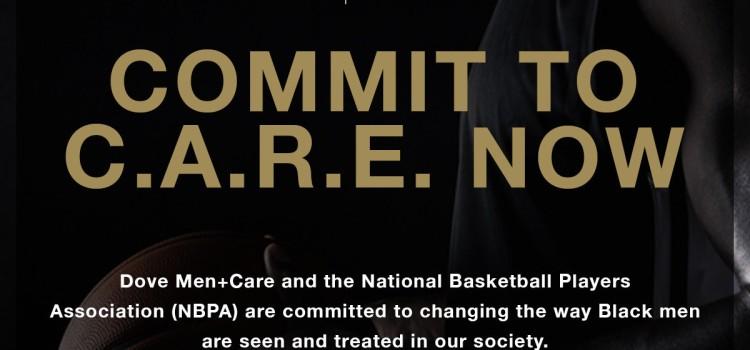 Dove Men+Care and National Basketball Players Association partner