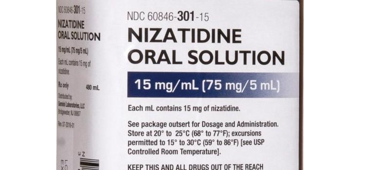 Amneal resumes shipping of nizatidine oral solution