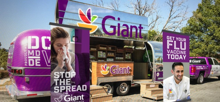 Giant Food taking flu vaccinations on-the-road