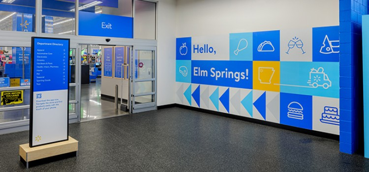 Walmart launches new store and shopping concept
