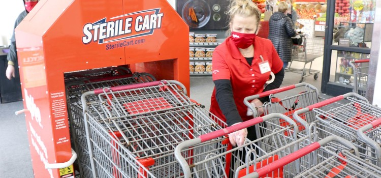 Hy-Vee introducing automated cleaning system for shopping carts