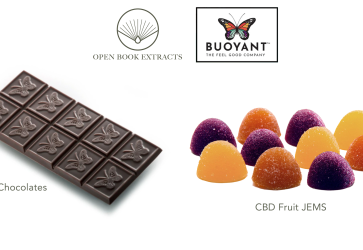 Open Book Extracts and Buoyant Brands team to produce high-quality CBD confectionery products