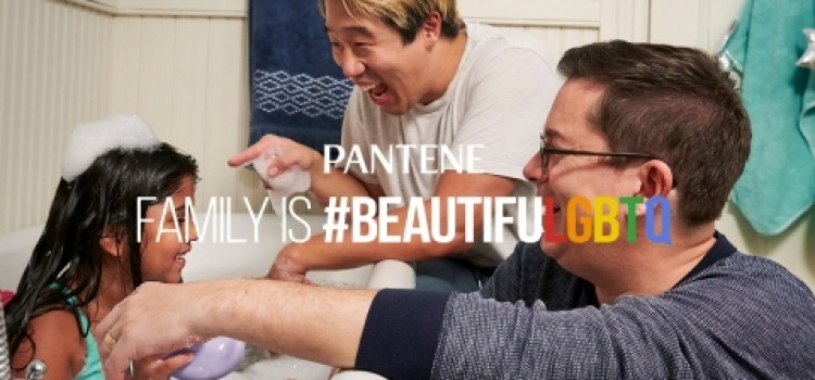 """Pantene launches its """"Family is #BeautifuLGBTQ"""" series"""