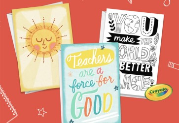 Hallmark to give away one million cards as a way of saying thanks