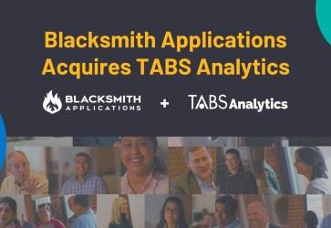 Blacksmith Applications acquires TABS Analytics