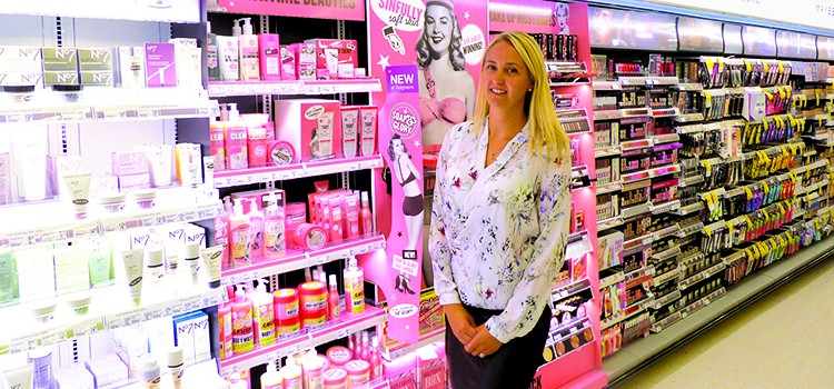 Brindley details uniqueness of beauty at Walgreens
