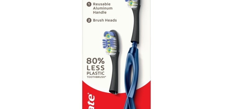 New toothbrush from Colgate cuts plastic waste