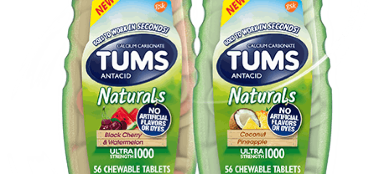 Tums expands portfolio to meet consumer demands for naturally-sourced products