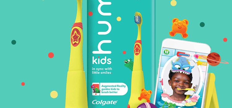New hum kids by Colgate makes brushing fun while building better oral care habits