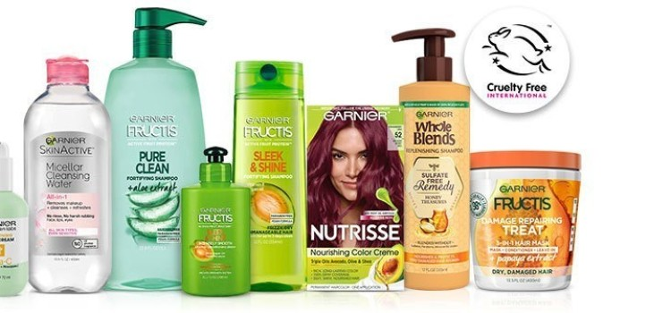 Garnier officially approved by Cruelty Free International