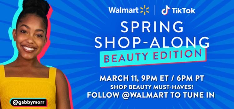 Walmart to host TikTok shopping event