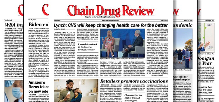 Read the entire April 5 print edition of Chain Drug Review