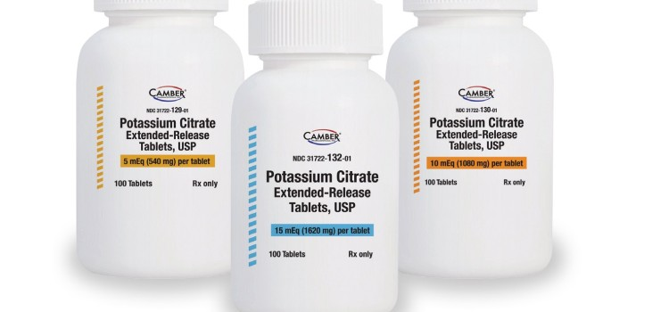 Camber intros generic Urocit-K