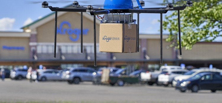 Kroger to pilot drone delivery of grocery orders