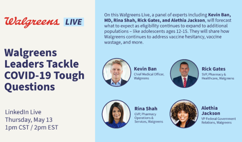 Walgreens LIve: Walgreens panel tackles new COVID-19 questions