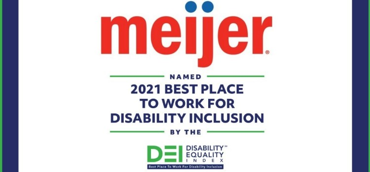 Meijer named a Best Place to Work for Disability Inclusion again