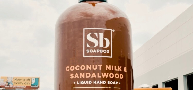 Soapbox to unveil world's biggest bottle of soap in Times Square on July 15