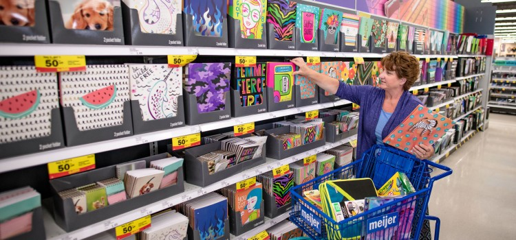 Meijer looks at back to school trends