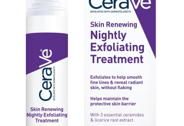 CeraVe brightens nighttime skincare routines with new chemical exfoliator