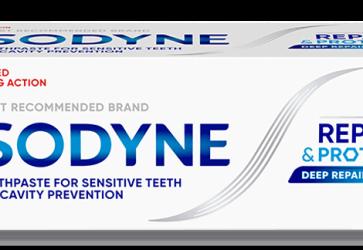 Sensodyne Repair and Protect with Deep Repair makes debut