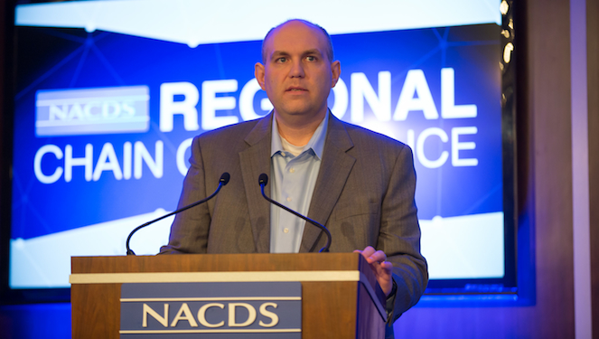 Fruth Pharmacy's Tim Weber, chairman of the NACDS Regional Chain Conference