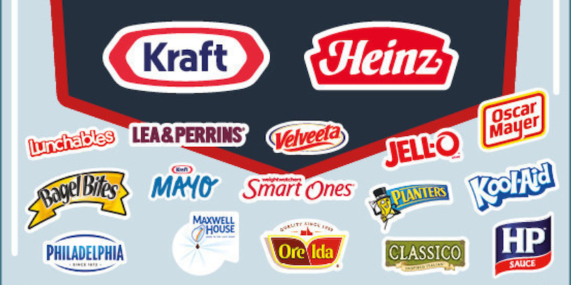 Kraft Heinz merger brands
