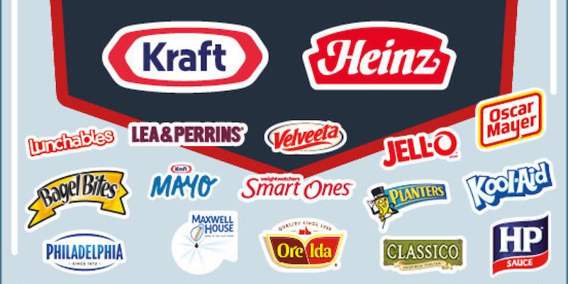 Kraft Heinz merger brands