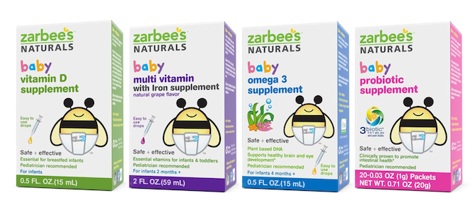 Zarbee S Launches Baby Vitamins Supplements
