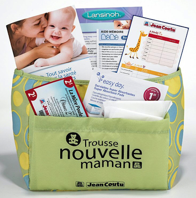 Jean Coutu New Mom Starter Kit