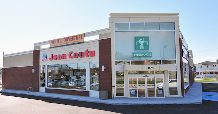 Jean Coutu store exterior_featured